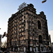 Divine Lorraine Hotel Art Print by Bill Cannon