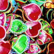 Diwali Decorations 3 Art Print