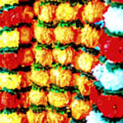 Diwali Decorations 4 Art Print