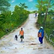 Djakout Art Print