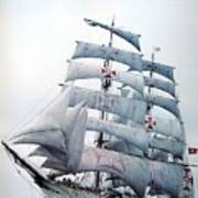 dk tall ships sagres i lyr 1896 D K Spinaker Art Print