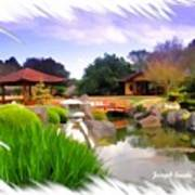 Do-00007 Japanese Gardens Art Print