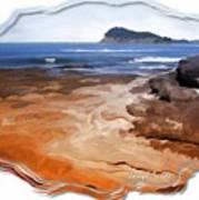 Do-00016 Pearl Beach Art Print
