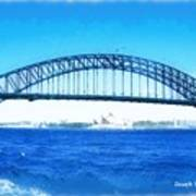 Do-00057 Harbour Bridge Art Print