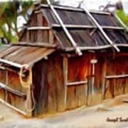 Do-00129 Old Cottage Art Print