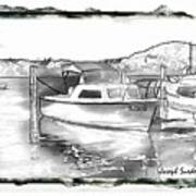 Do-00250 A Boat Art Print