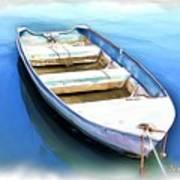 Do-00269 Boat In Killcare Art Print