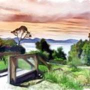 Do-00272 Look Out From Sarah Island Art Print