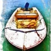 Do-00277 Boat In Hardys Bay Art Print