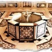 Do-00323 Old Bath Fountain Art Print