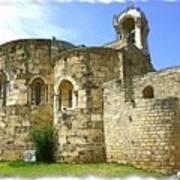 Do-00344 Church Of St John Marcus In Byblos Art Print