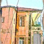 Do-00386 Old Building In Mar Mikhael Art Print