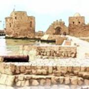 Do-00423 Citadel Of Sidon Art Print