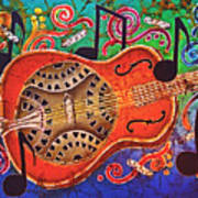 Dobro - Slide Guitar Art Print