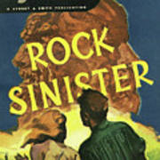 Doc Savage Rock Sinister Art Print