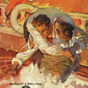 Doc Savage The Black Spot Art Print