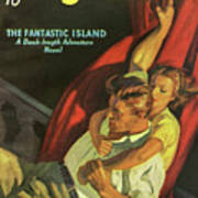 Doc Savage The Fantastic Island Art Print