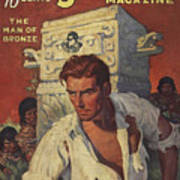 Doc Savage The Man Of Bronze Art Print