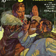 Doc Savage The Mystery On The Snow Art Print