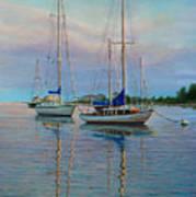 Dock N Dine Art Print