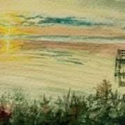 Dock On The Bay Art Print