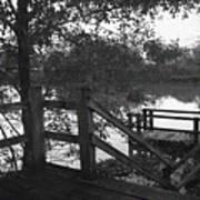 Dock On The Bayou Art Print