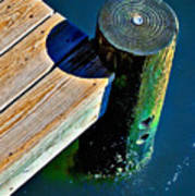Dock Art Print by Robert Smith