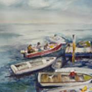 Dockside Art Print by Dorothy Herron