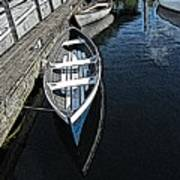 Dockside Quietude Art Print