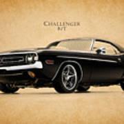 Dodge Challenger Art Print