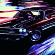Dodge Challenger Rt 1970 Art Print