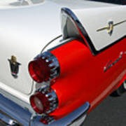 Dodge Coronet Tail Fin Art Print