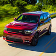 Dodge Durango Srt 2018 Art Print