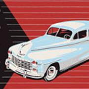 Dodge Showroom Poster Art Print