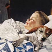 Dog Food Ad, 1956 Art Print