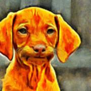 Dog Friend Art Print