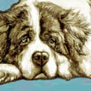 Dog -  New Pop Art Poster Art Print