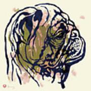 Dog Portrait - Pop Art Poster Art Print