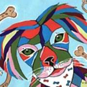 Doggie Dreams - Cute Animals Art Print