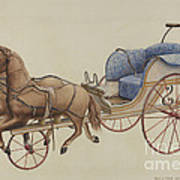 Doll Carriage Art Print