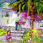 Doll House In Turre Art Print