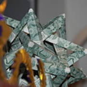 Dollar Origami Art Print