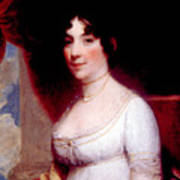 Dolley Madison 1768-1849, First Lady Print by Everett