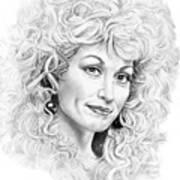 Dolly Parton Art Print