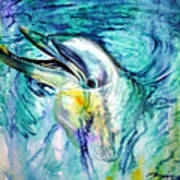 Dolphin Smile Art Print