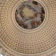 Dome In Capitol Building Art Print