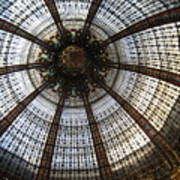 Dome Of The Galleries Lafayette Art Print