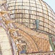 Dome on St. Mark's in Venice Art Print