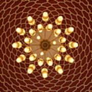 Domed Roof Mandala Art Print