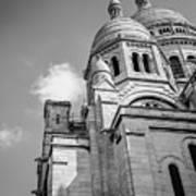 Domes Of Sacre Coeur Art Print